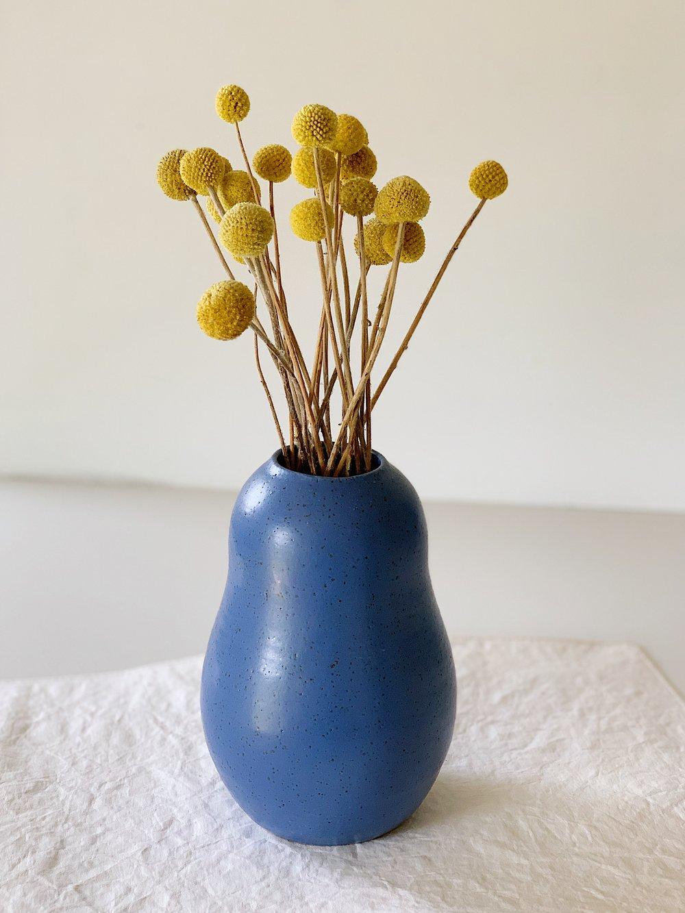 Image of Blue vase