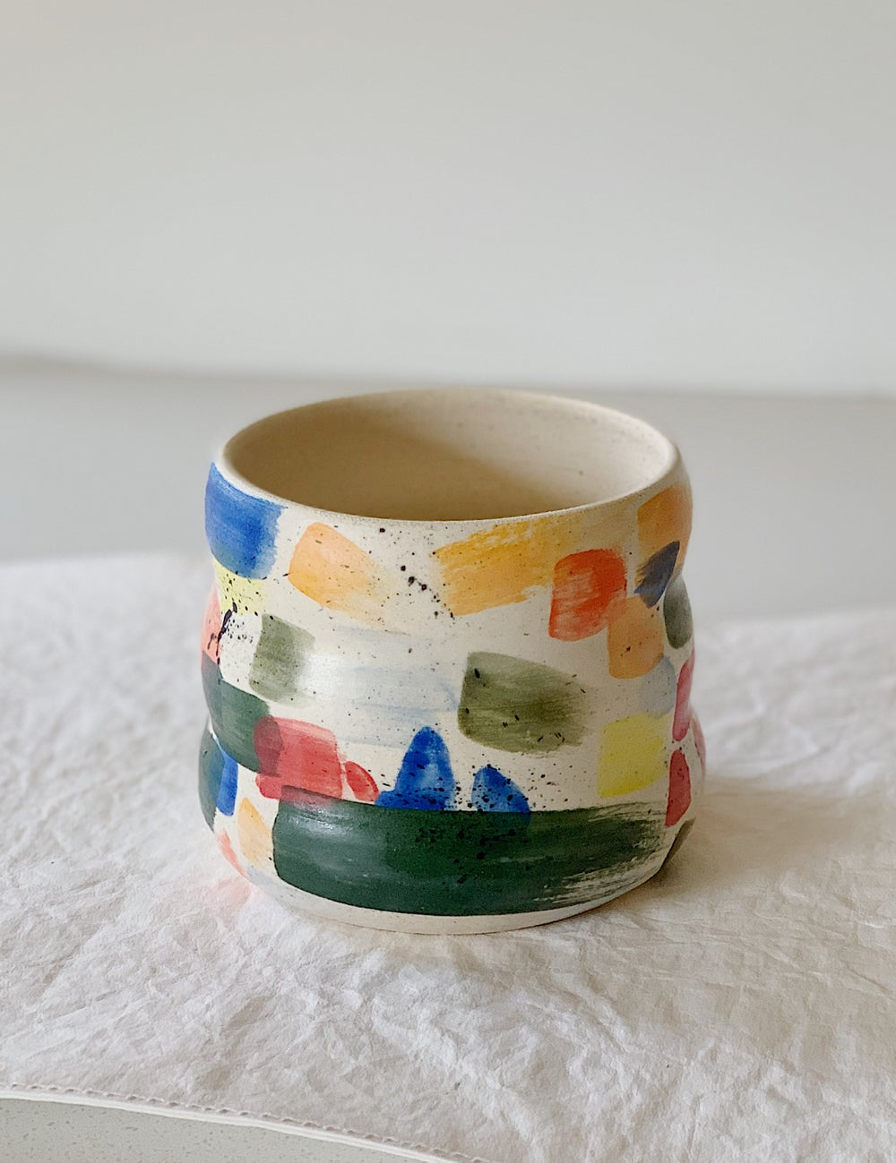 Image of Watercolor planter