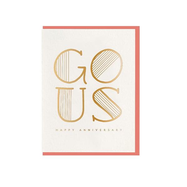 Image of GO US Happy Anniversary Card