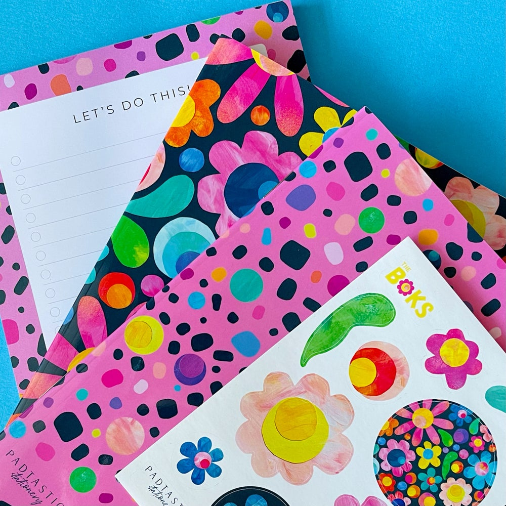 Image of FLOWER POWER   Stationery Pack