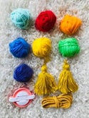 Pom-Pom Garland Kits- Rainbow Kit and Pink & Purples Kit