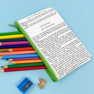 Image of Anne of Green Gables Small Book Page Pencil Case