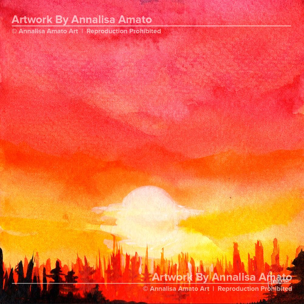 Summer Evening  - Artwork  - Prints