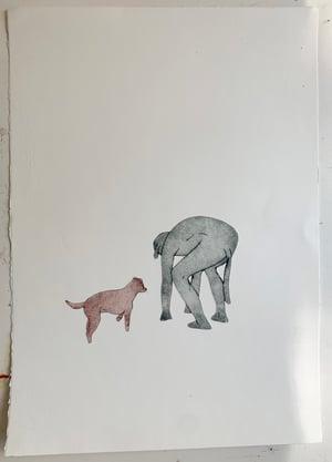 Image of Art print - Handler 2