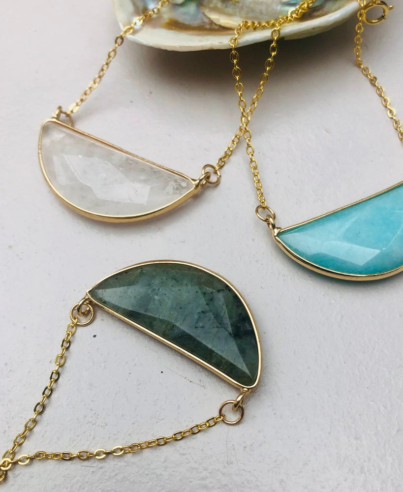 Image of Moon energi necklace