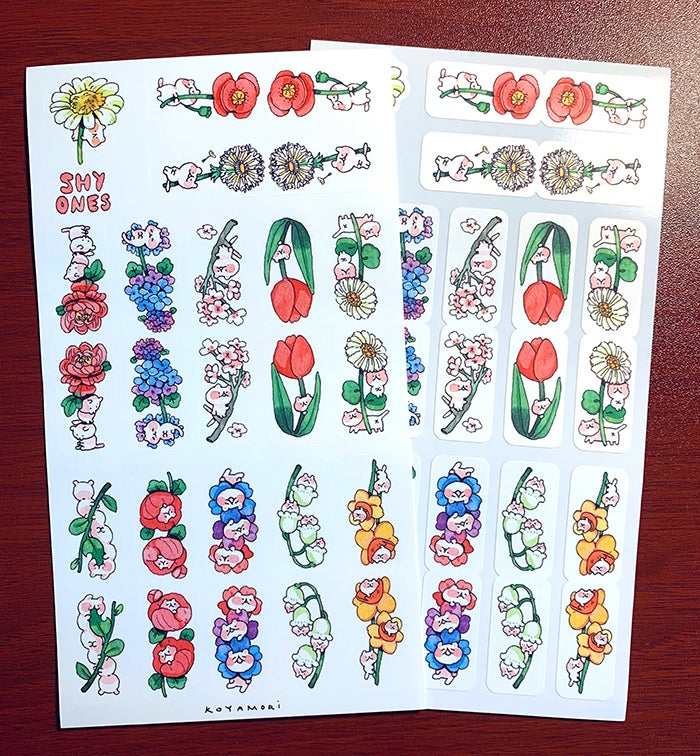 Image of Shy Ones Sticker Tab