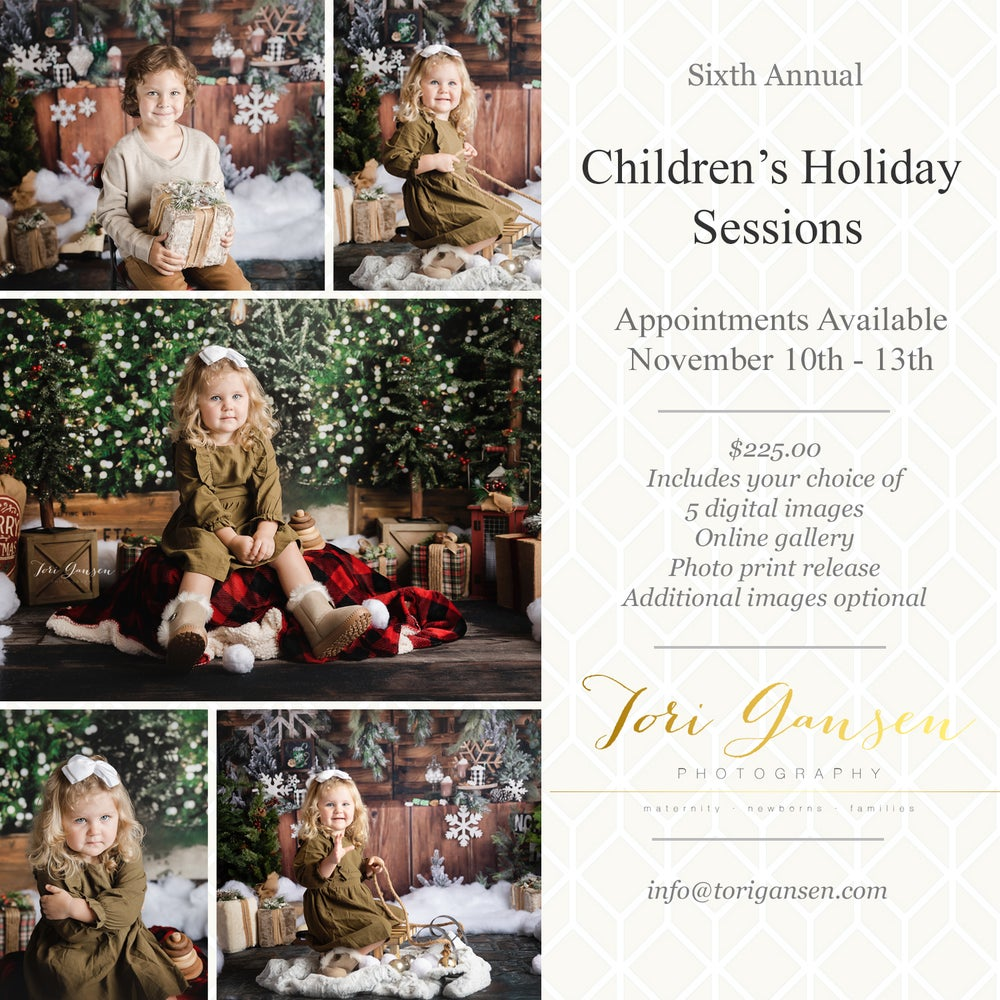 Image of 2021 Childrens Holiday Sessions