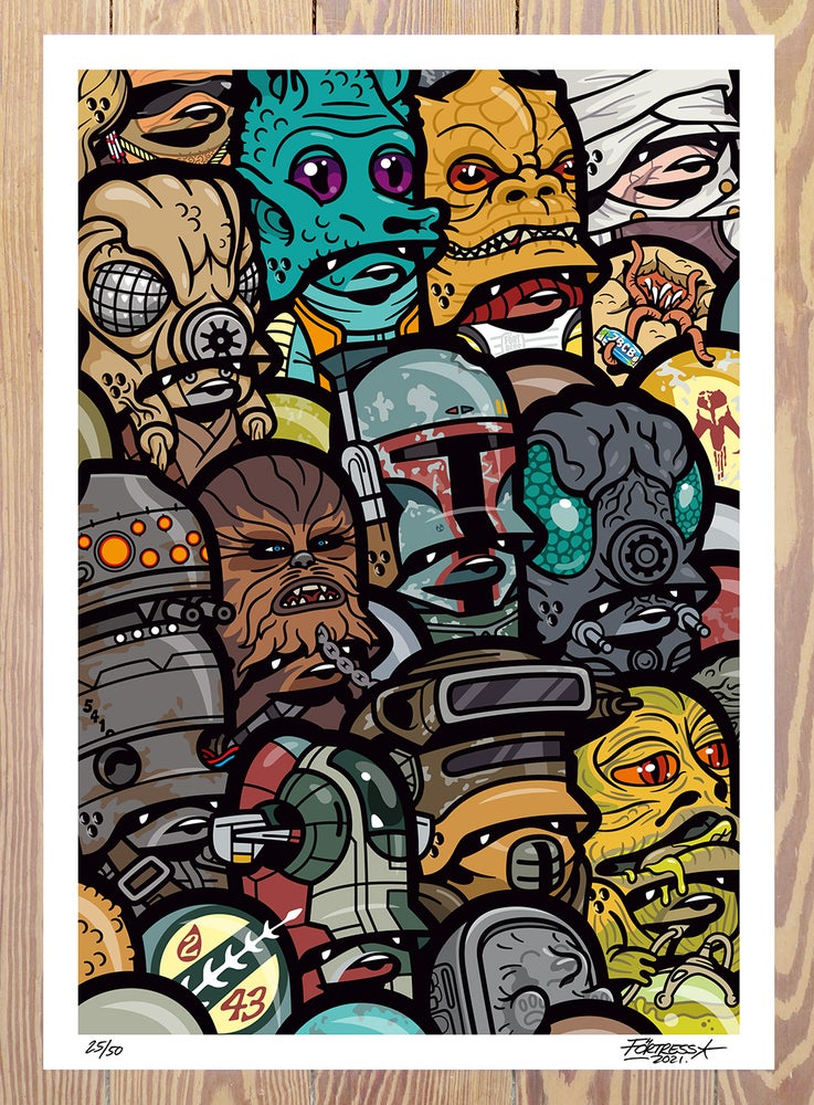 Image of The Bounty Hunter Tales / print