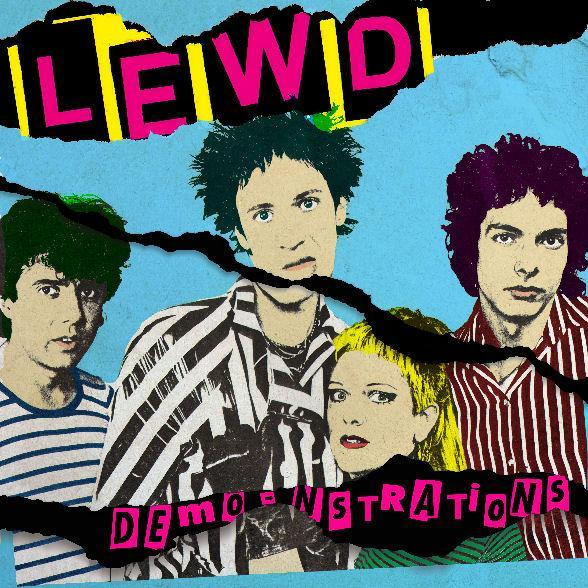 Image of THE LEWD - Demo-strations (Demos & Sessions '78-'80) LP
