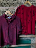 Naturally Dyed Tops