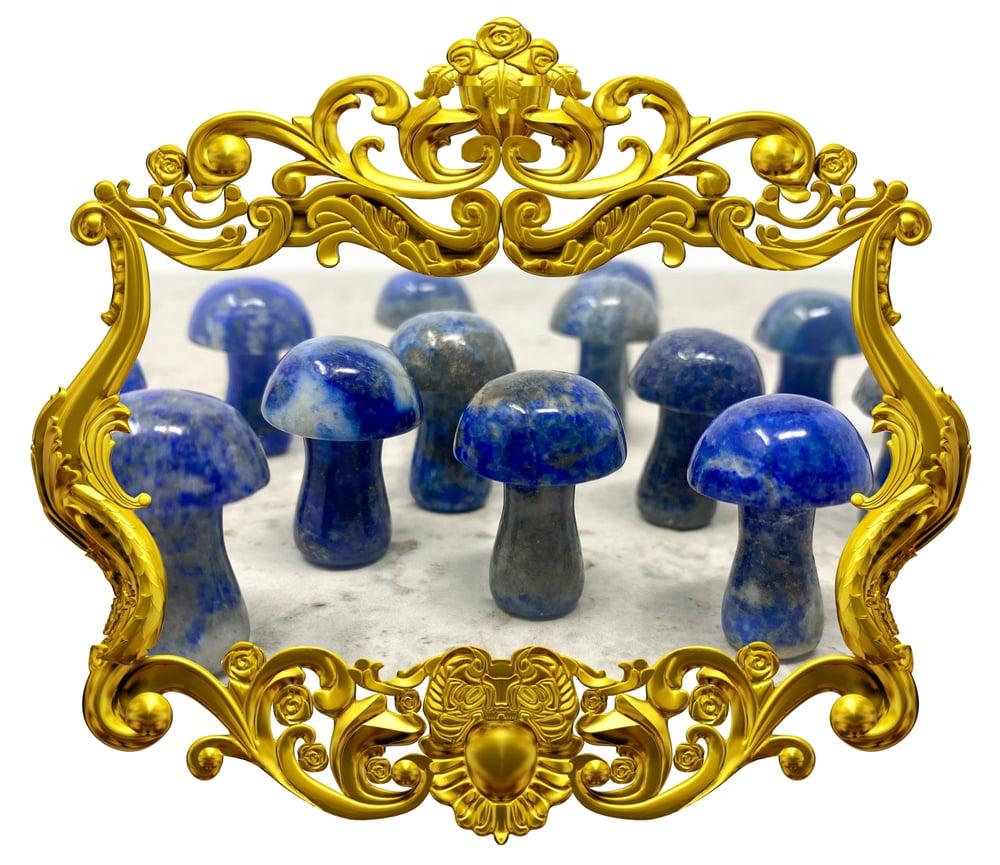 Image of Lapis Lazuli Mushroom
