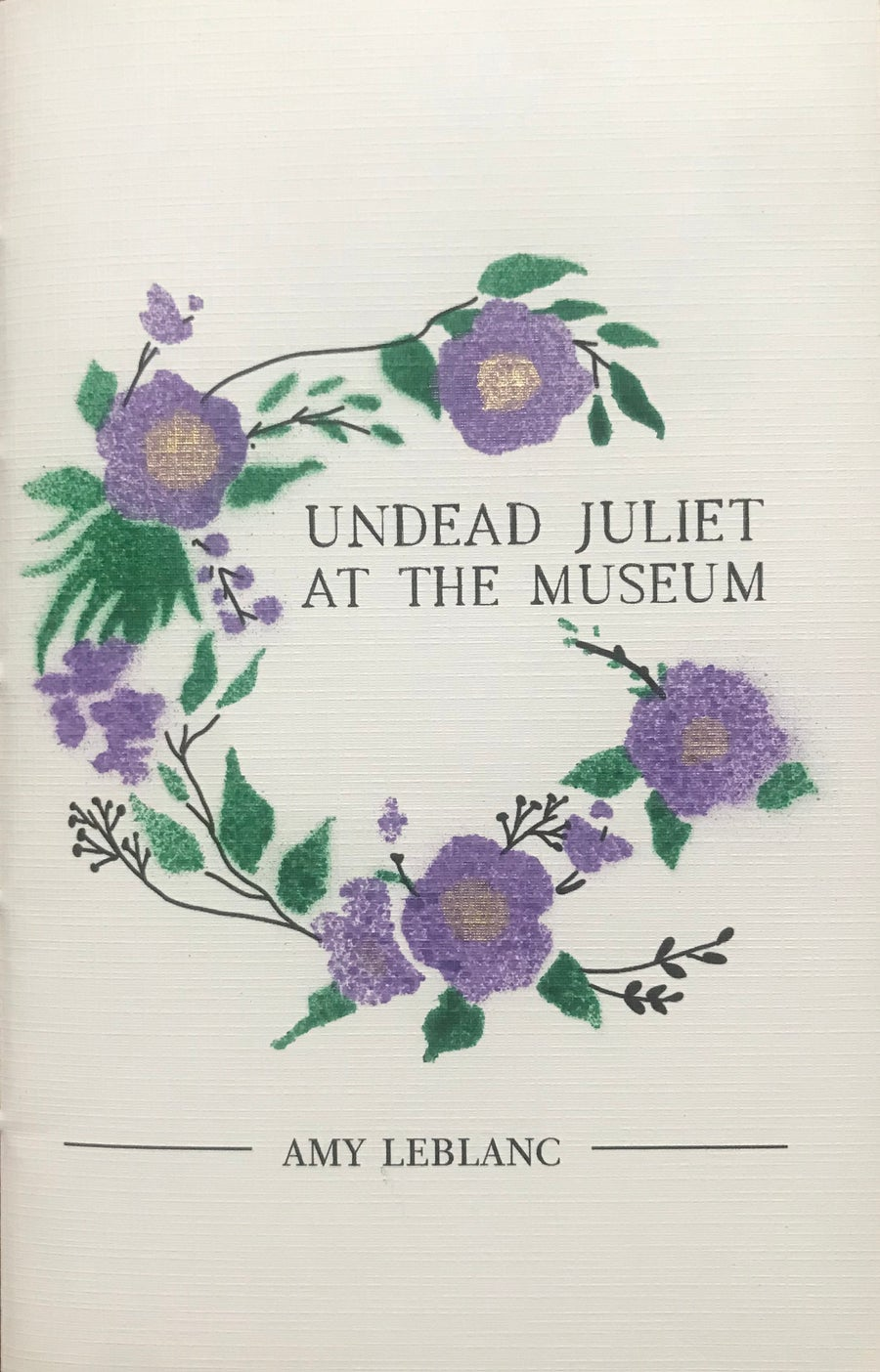 """Image of """"Undead Juliet at the Museum"""" by Amy LeBlanc"""