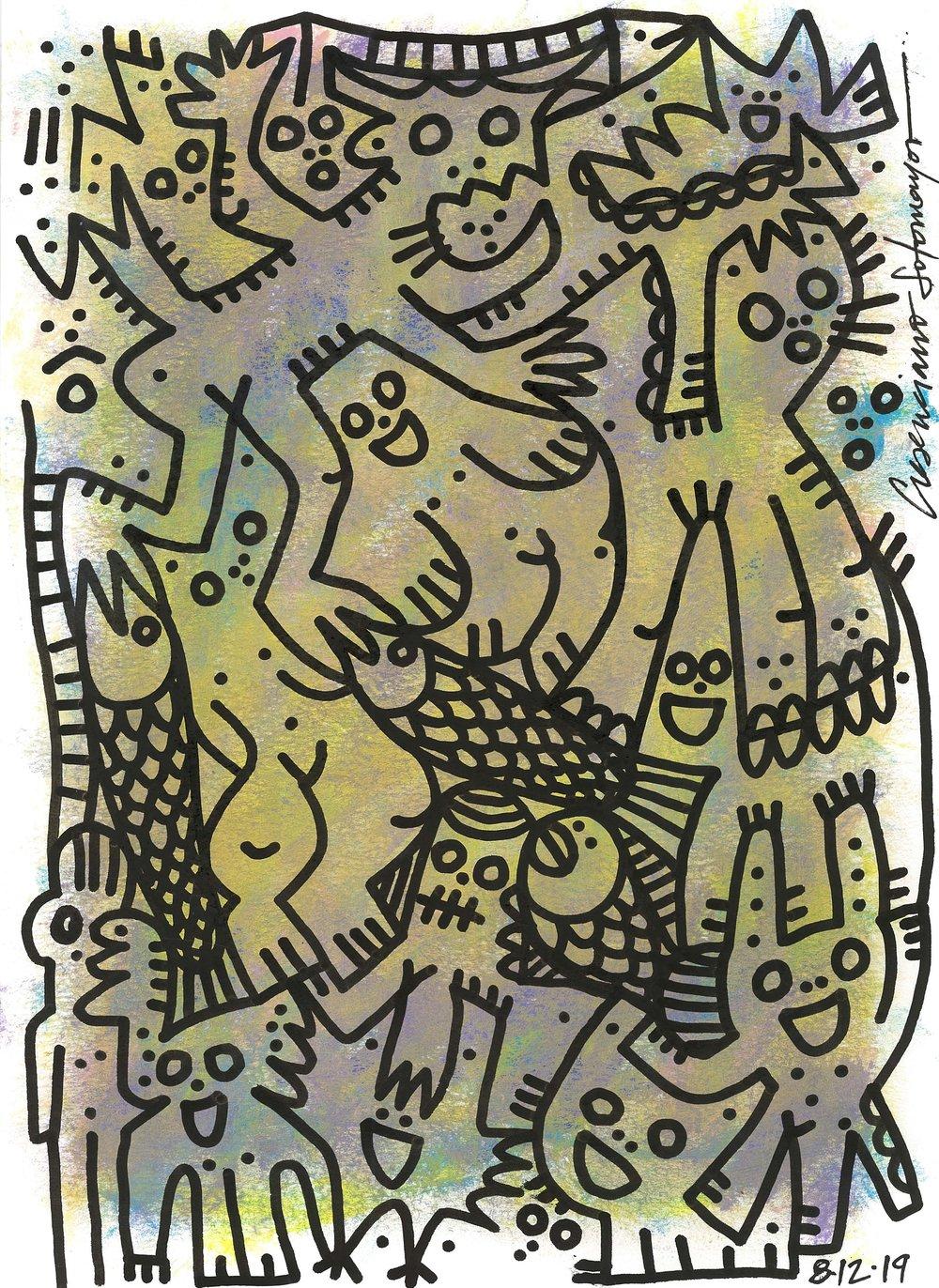 """Image of """"Criaturas y Pescado"""""""
