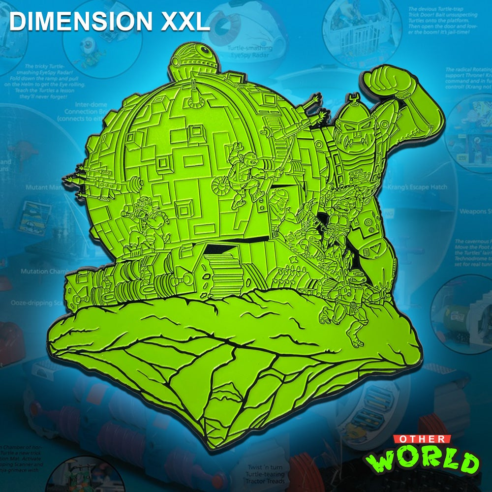 Image of Dimension XXL pin