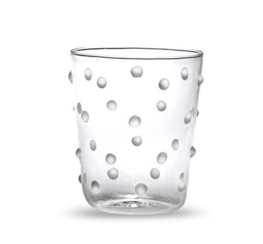 Image of Polka Tumbler with White Spots