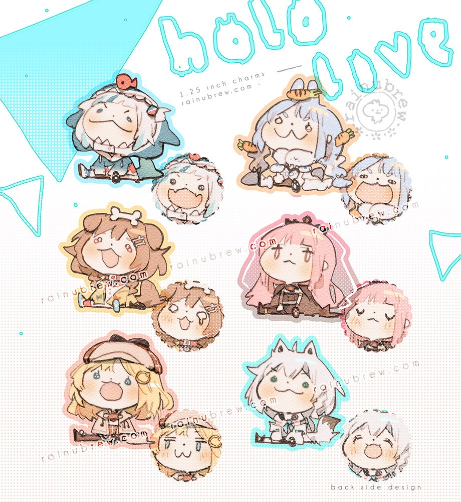 Image of [PREORDER] *NEW* Hololive   1.25 Inch Charms