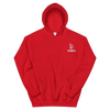 Money bag bloody embroidered hoodie