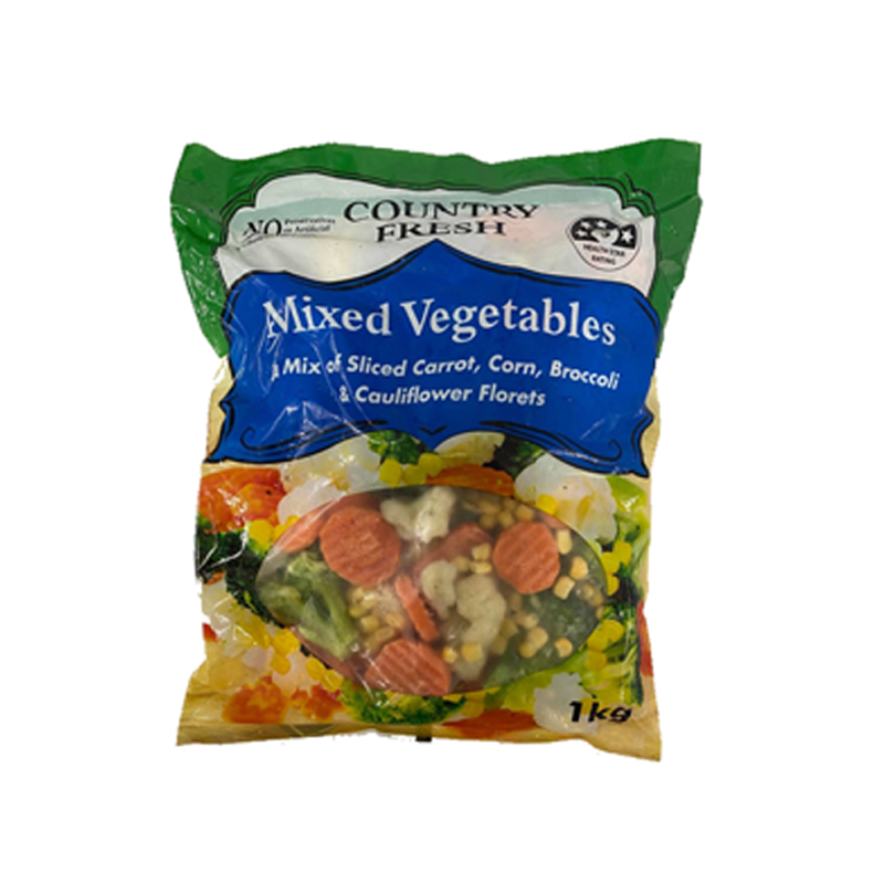 Image of Country Fresh Mixed Vegetables 1Kg