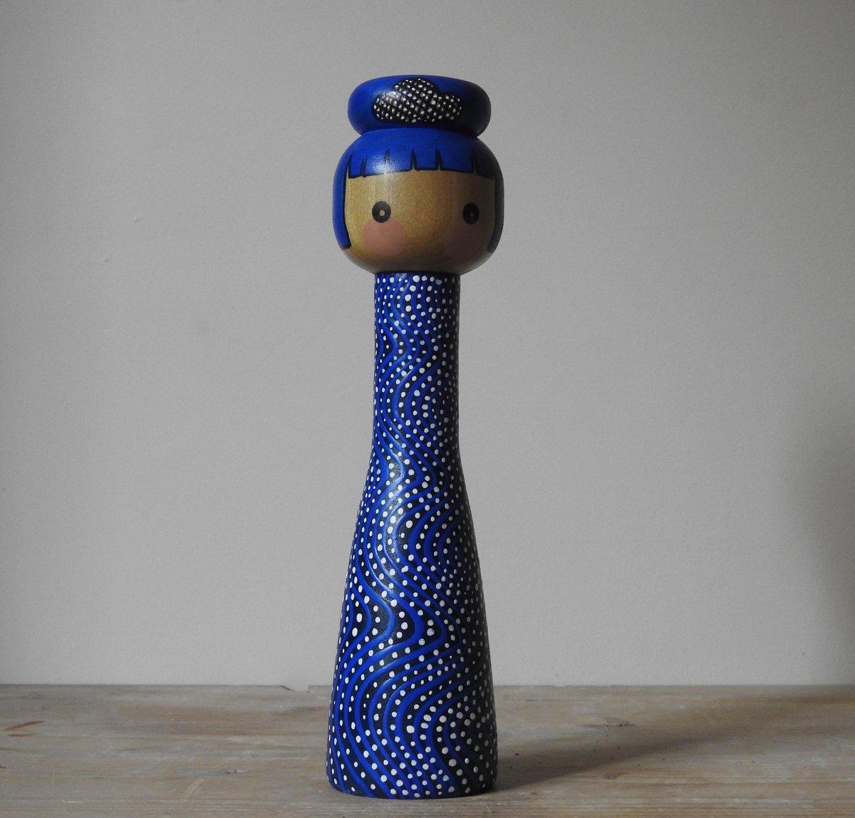 Image of blue girl - 'stream'