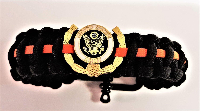 Image of Vietnam Veteran, Agent Orange, US Army Paracord Bracelet