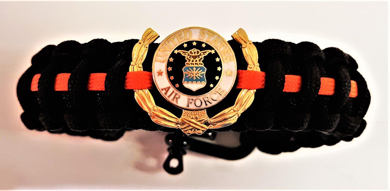 Image of Vietnam Veteran, Agent Orange, US Air Force Paracord Bracelet