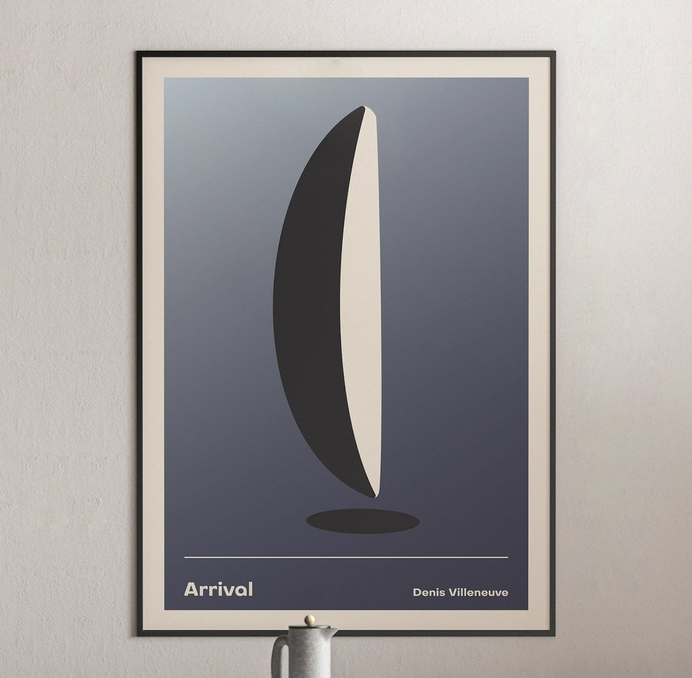 Arrival -  Denis Villeneuve Movie Poster