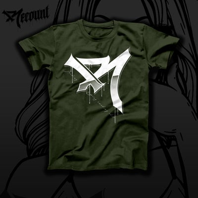 """Image of """"FUCKIN SIPPIN"""" R SHIRT MILITARY GREEN"""