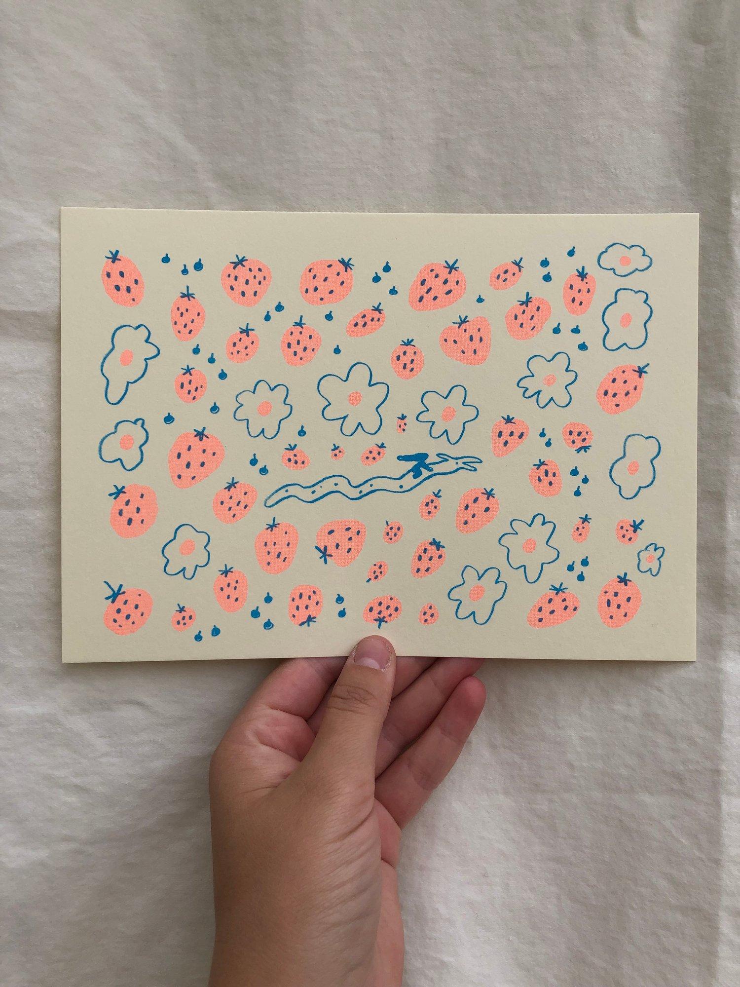 Strawberry Dragon Small Print