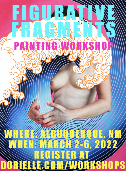 Image of Figurative Fragments Painting Workshop 2022