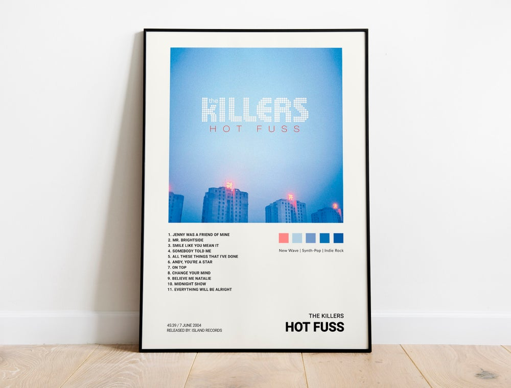 The Killers - Hot Fuss Album Cover Poster