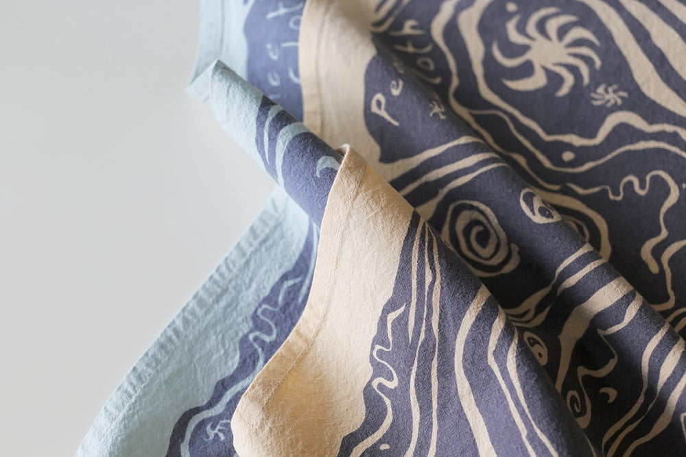 Image of PEACE SPACE Multi-use Cloth<div>Color: Shell</div>