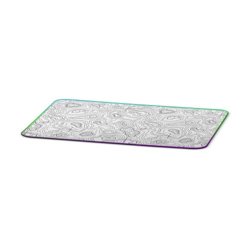Image of PREORDER // [Limited] White RGB Tamography™ Gunsmith Mat / Mouse Pad