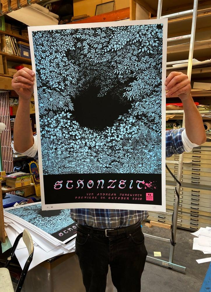 Image of Silk screen print SCHONZEIT