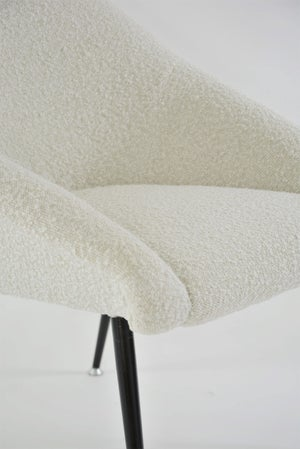 Image of Fauteuil coquille bouclette