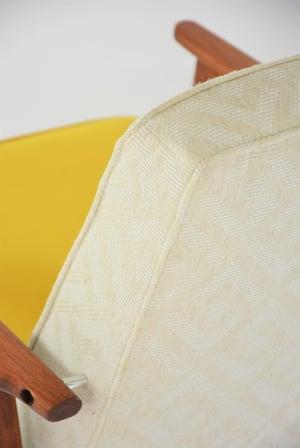 Image of Fauteuil FOX bicolore jaune