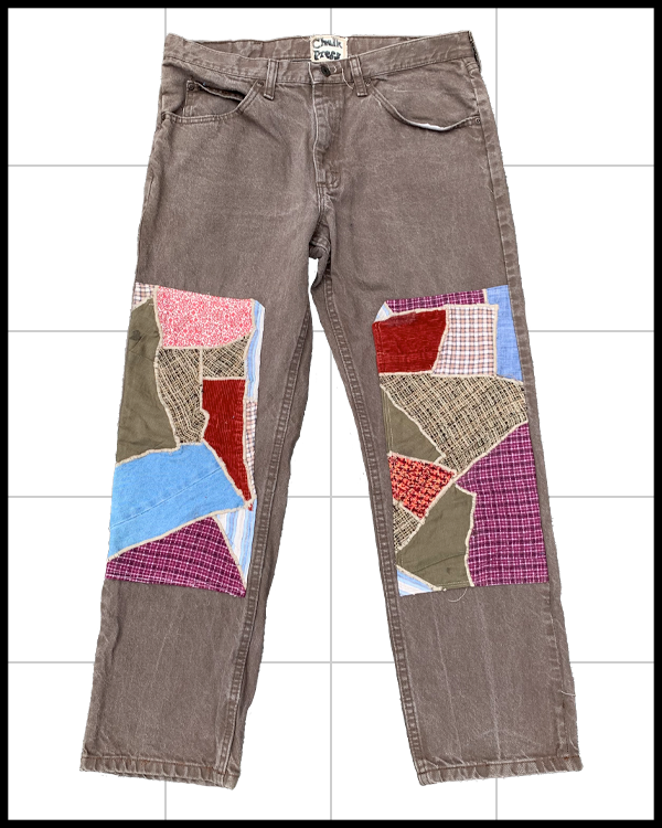 Image of Mosaic Double Knee Pant