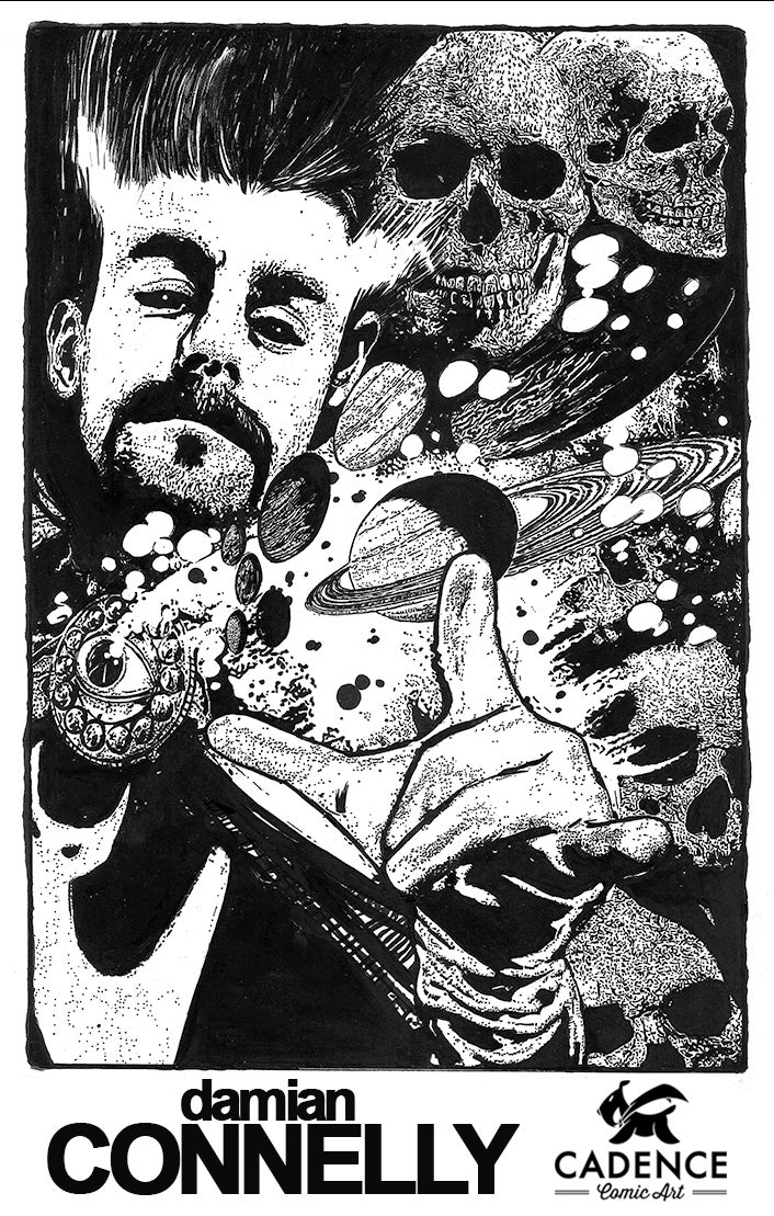 Image of Damian Connelly Commissions (Mail Order) opens Thursday 9/2 at 2PM EST