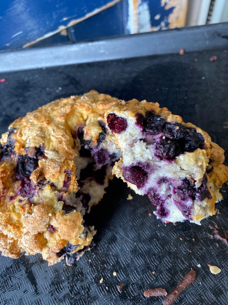 Image of Blueberry and Coconut Scone