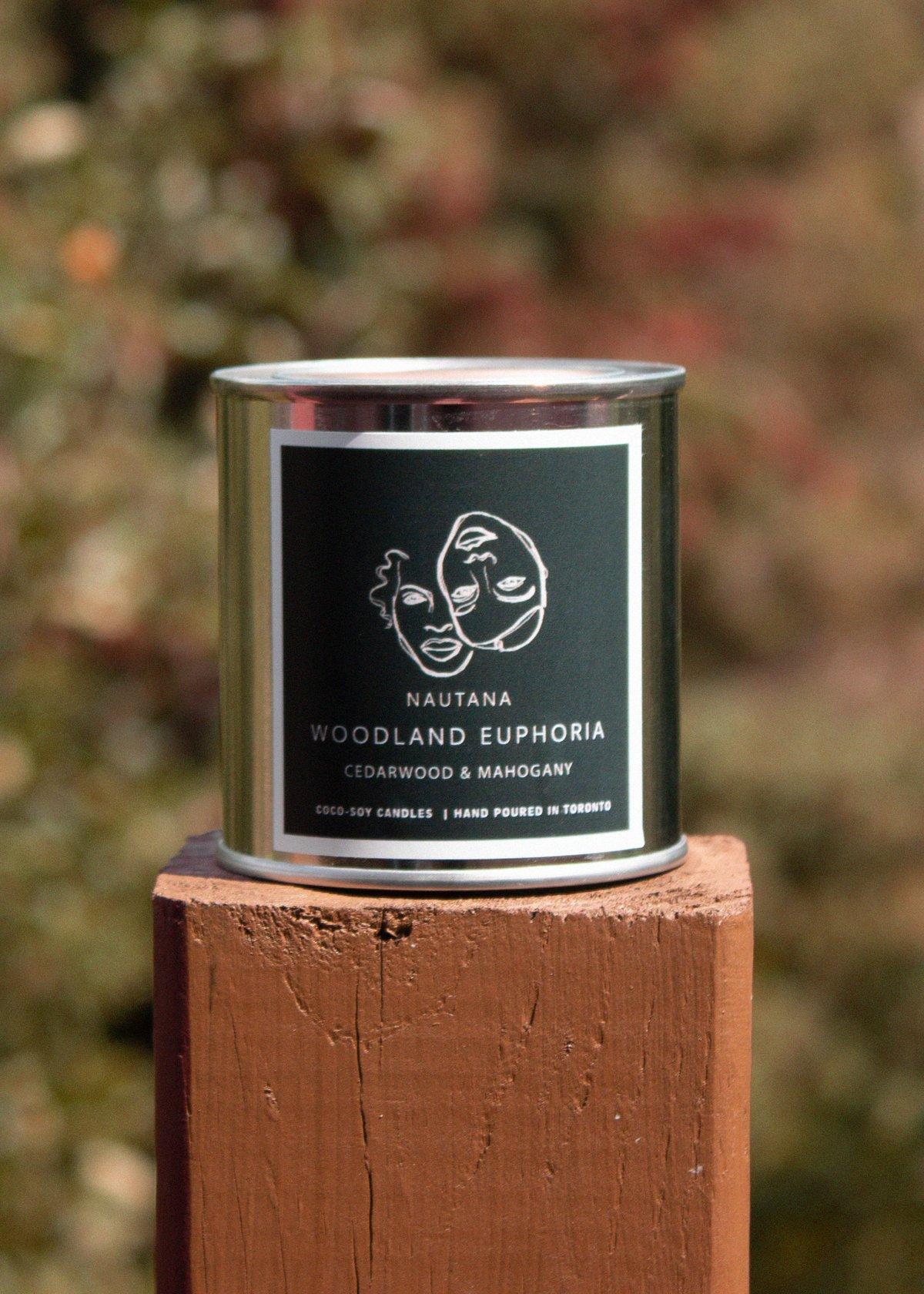 Image of Woodland Euphoria | Cedarwood & Mahogany FALL CANDLE