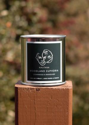 Image of Woodland Euphoria   Cedarwood & Mahogany FALL CANDLE