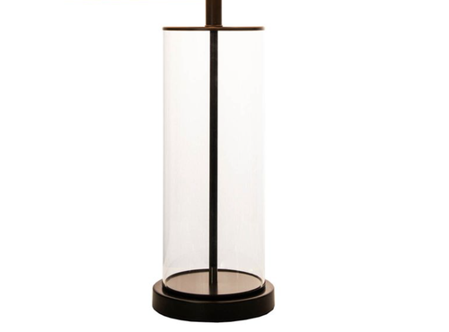 Image of Glass Iron Table Lamp