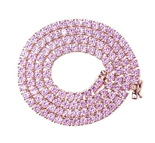 Image of Pink Tennis Chain