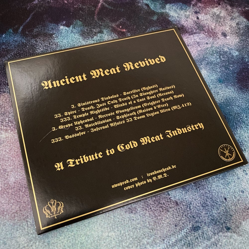 Ancient Meat Revived - A Tribute to Cold Meat Industry CD