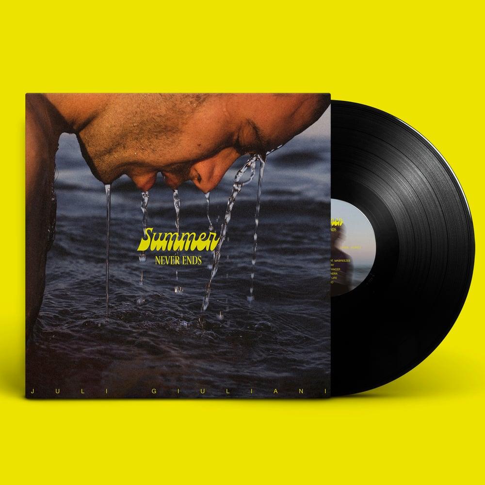 "Image of PRE-ORDER. LP. ""SUMMER NEVER ENDS"" - JULI GIULIANI. Vinyl 12"""