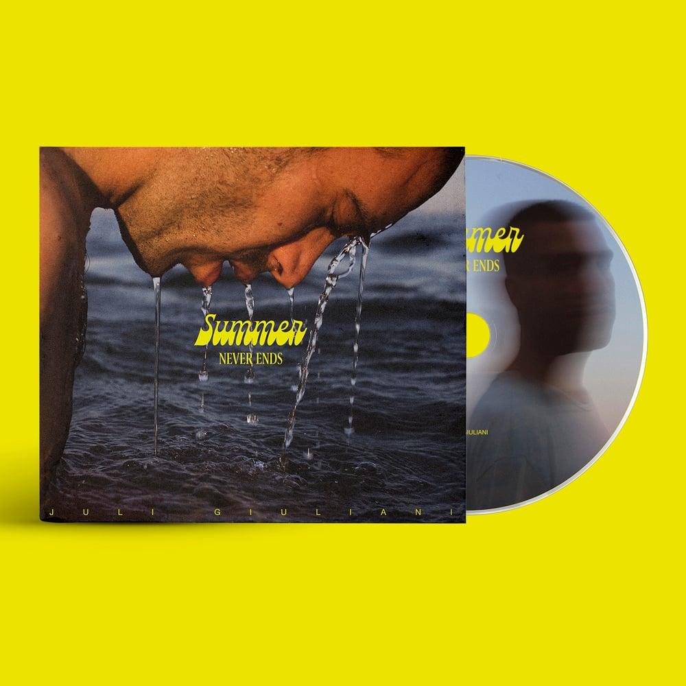 "Image of PRE.ORDER. CD ""SUMMER NEVER ENDS"" - JULI GIULIANI"