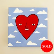 Image of love is in the air- painting
