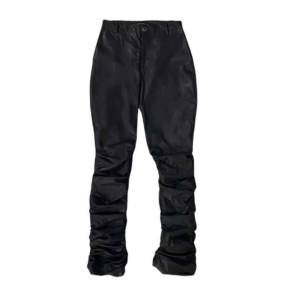 Image of Classic Blk 'Tacked Pants — Women's