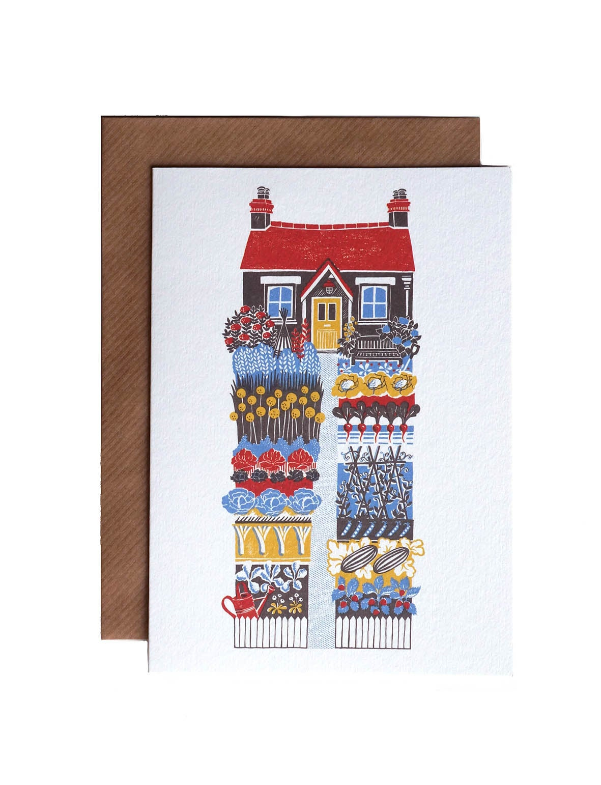 Image of The Vegetable Garden - Greetings Card