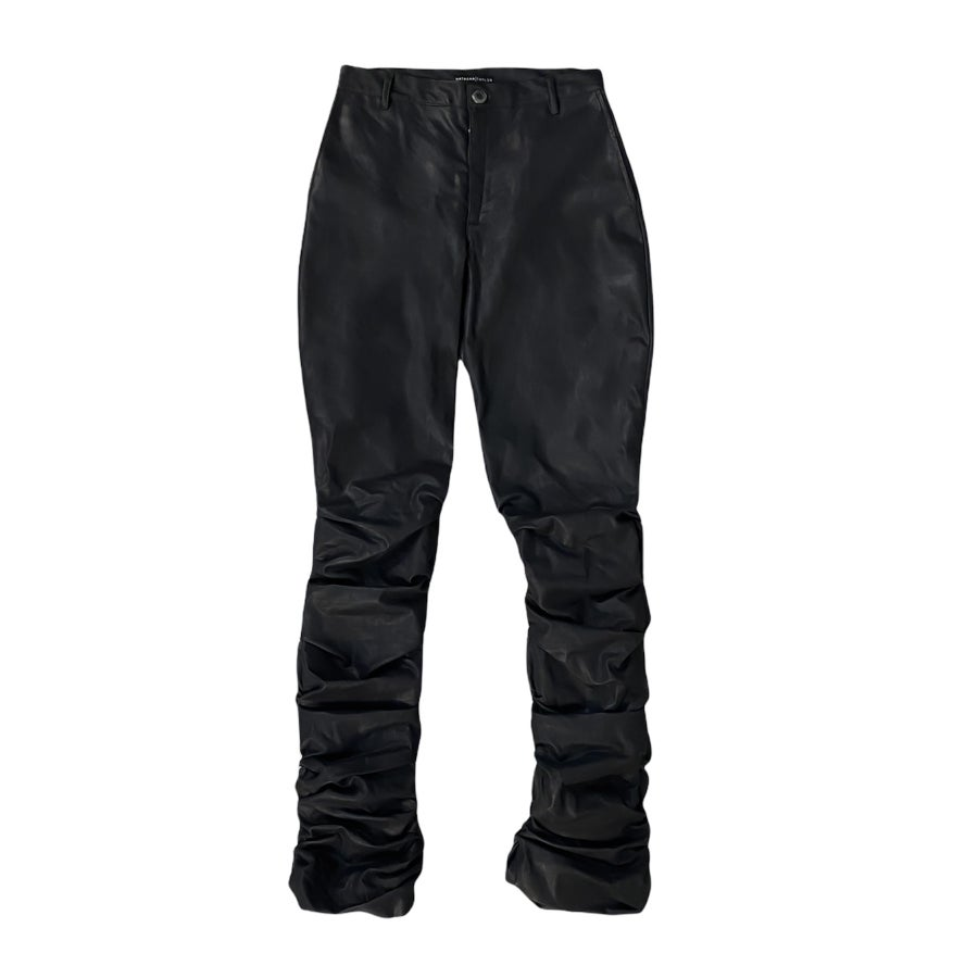 Image of Classic Blk 'Tacked Pants — Men's
