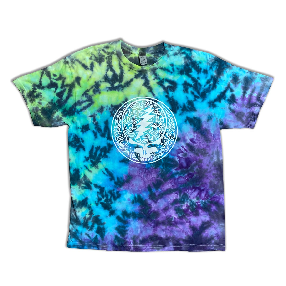 XL Ice Dyed Tee with print